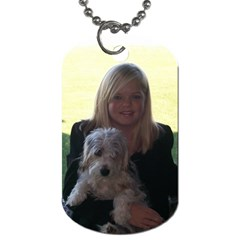 Jill By Melanie   Dog Tag (two Sides)   E9dgwjckx3ho   Www Artscow Com Front