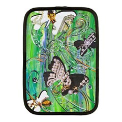 Butterfly Jewels Netbook Case (Medium) by kewzooA