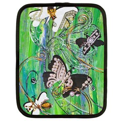 Butterfly Jewels Netbook Case (XL) by kewzooA
