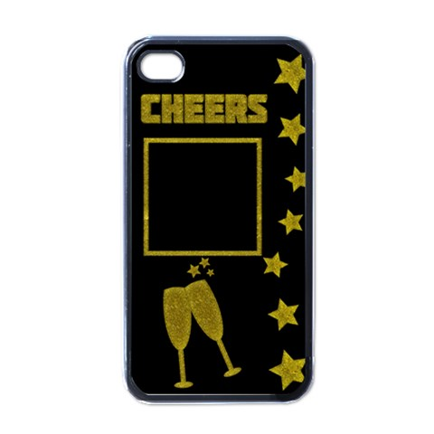 Cheers   Iphone Case By Carmensita   Apple Iphone 4 Case (black)   Xwb21h3rgyth   Www Artscow Com Front