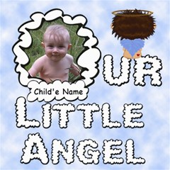Our Little Angel Boy Scrapbook Pages 8x8 By Chere s Creations   Scrapbook Page 8  X 8    Mey8ry26bmng   Www Artscow Com 8 x8 Scrapbook Page - 1