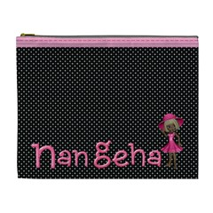 Cosmetic Bag Two By Nan Geha   Cosmetic Bag (xl)   S2y7qzp70z7o   Www Artscow Com Front