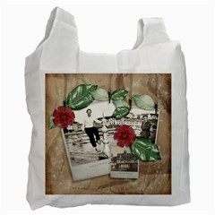 Honeymoon Recycle Bag By Catvinnat   Recycle Bag (two Side)   Yvimod60ycuq   Www Artscow Com Front