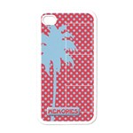 Palm Tree -Iphone case template - Apple iPhone 4 Case (White)