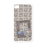 Owl (Who s calling?) -Iphone case template - Apple iPhone 4 Case (White)