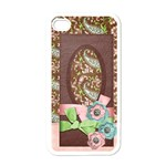 Paisley Pink-Iphone case template - Apple iPhone 4 Case (White)