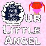 Our Little Angel Girl Scrapbook Pages 12x12 - ScrapBook Page 12  x 12
