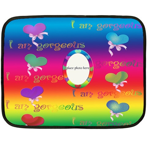 Allaboutlove Minifleece By Kdesigns   Fleece Blanket (mini)   Ufygohc3h9qr   Www Artscow Com 35 x27 Blanket