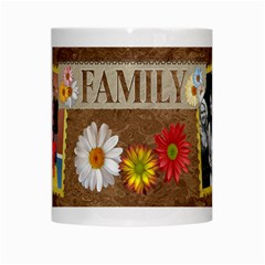 Family Flower Mug By Lil    White Mug   No5kiuv7dc4r   Www Artscow Com Center
