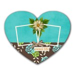 Heart mousepad- Sweet Life - Mousepad (Heart)