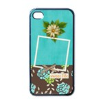 iPhone Case- Sweet Life - Apple iPhone 4 Case (Black)