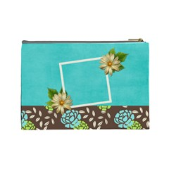 Large Cosmetic Case  Sweet Life By Jennyl   Cosmetic Bag (large)   Mxts0pp86svv   Www Artscow Com Back