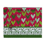 Hug & Kisses, Cosmetic Bag XL - Cosmetic Bag (XL)
