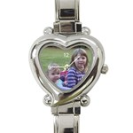Personalized watches - Heart Italian Charm Watch