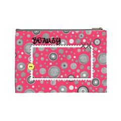 Cosmetics Bag Large By Angel   Cosmetic Bag (large)   Ukt2sp1r6wdb   Www Artscow Com Back