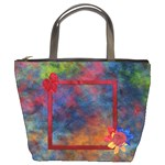 Tye Dyed Bucket Bag 1
