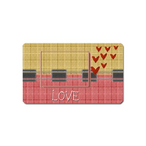 Love Magnet By Daniela   Magnet (name Card)   79rxzplrgp0o   Www Artscow Com Front