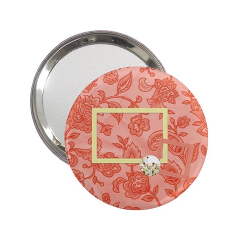 Spring Blossoms Mirror 1 By Lisa Minor   2 25  Handbag Mirror   Eaivb54i9c3m   Www Artscow Com Front