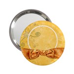 Tangerine Breeze Mirror 2 - 2.25  Handbag Mirror
