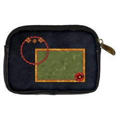 Gypsy Fall Camera Bag 1 By Lisa Minor   Digital Camera Leather Case   6ywyyod3bnws   Www Artscow Com Back