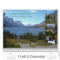 Glacier Ruth By Nicole   Wall Calendar 11  X 8 5  (12 Months)   9c0bywhe6pyr   Www Artscow Com Cover