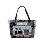 Maid of Honor Black Lace Handbag (American English spelling) - Classic Shoulder Handbag