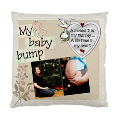 My Baby Bump Pillow By Lil    Standard Cushion Case (two Sides)   Tuvxfyn48l0j   Www Artscow Com Front