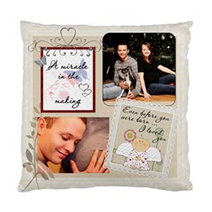 My Baby Bump Pillow By Lil    Standard Cushion Case (two Sides)   Tuvxfyn48l0j   Www Artscow Com Back