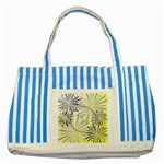 Fireworks tote - Striped Blue Tote Bag