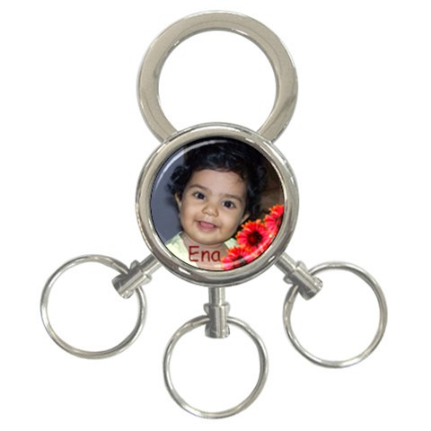 Ena By Anu   3 Ring Key Chain   9dsbndxowori   Www Artscow Com Front