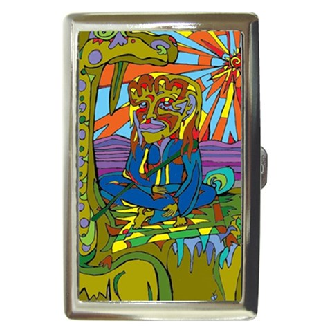 Thirsty Camel By Alienjunkyard   Cigarette Money Case   Ptphh1gm60d3   Www Artscow Com Front