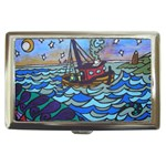 Oceans Mystery painted - Cigarette Money Case