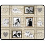 Wedding Memories Medium Fleece Blanket - Fleece Blanket (Medium)