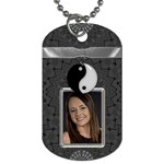 Yin Yang Dog Tag - Dog Tag (One Side)