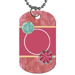 Sleepover 2 sided Dog Tag 1 - Dog Tag (Two Sides)