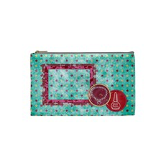 Sleepover Small Cosmetic Bag 1 By Lisa Minor   Cosmetic Bag (small)   Vs8yanqwdml4   Www Artscow Com Front