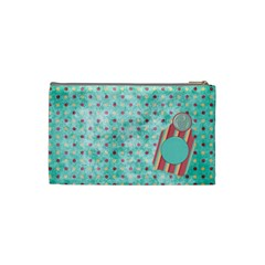 Sleepover Small Cosmetic Bag 1 By Lisa Minor   Cosmetic Bag (small)   Vs8yanqwdml4   Www Artscow Com Back