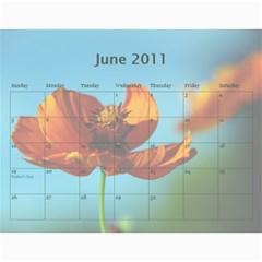 2011 Calendar Design#2 By Lisi Cai   Wall Calendar 11  X 8 5  (12 Months)   C9rzeqhfkjh7   Www Artscow Com Jun 2011