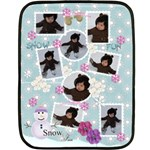 Mini Fleece Blanket - Snow Fun - Fleece Blanket (Mini)