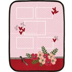 Mini Fleece Blanket - Love is in the Air - Fleece Blanket (Mini)