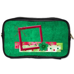Merry And Bright Toiletry Bag 1 By Lisa Minor   Toiletries Bag (two Sides)   4mnb9ts8ayr8   Www Artscow Com Front