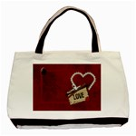 LOVE Tote 1 - Basic Tote Bag