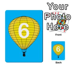 Balloon Game Remake By Amy Smith   Multi Purpose Cards (rectangle)   Dujdmfbgf3wz   Www Artscow Com Front 53