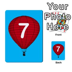 Balloon Game Remake By Amy Smith   Multi Purpose Cards (rectangle)   Dujdmfbgf3wz   Www Artscow Com Front 54