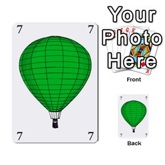 Balloon Game Remake By Amy Smith   Multi Purpose Cards (rectangle)   Dujdmfbgf3wz   Www Artscow Com Front 12