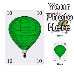 Balloon Game Remake By Amy Smith   Multi Purpose Cards (rectangle)   Dujdmfbgf3wz   Www Artscow Com Front 14