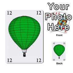 Balloon Game Remake By Amy Smith   Multi Purpose Cards (rectangle)   Dujdmfbgf3wz   Www Artscow Com Front 15