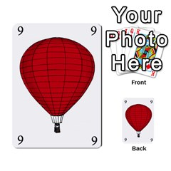Balloon Game Remake By Amy Smith   Multi Purpose Cards (rectangle)   Dujdmfbgf3wz   Www Artscow Com Front 30