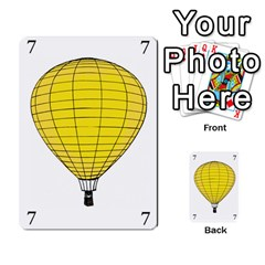 Balloon Game Remake By Amy Smith   Multi Purpose Cards (rectangle)   Dujdmfbgf3wz   Www Artscow Com Front 40