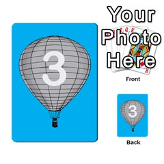 Balloon Game Remake By Amy Smith   Multi Purpose Cards (rectangle)   Dujdmfbgf3wz   Www Artscow Com Front 50
